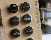 Flair Button-Inspirational (Project Life/One Little Word projects)