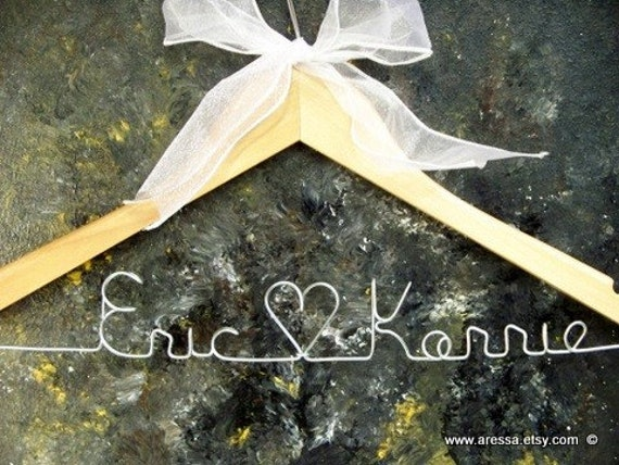 Wooden Personalized Hanger