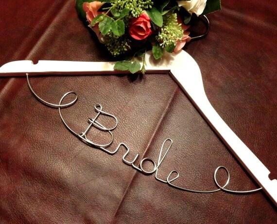 20 Off Sale Bride Wire Hangers Wedding By Originalbridalhanger