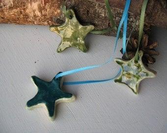 THREE STARS ceramic pendant set