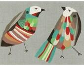Giclee Bird Print A4 The Speculators
