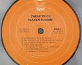 Cheap Trick - Vinyl Label Refrigerator Magnet