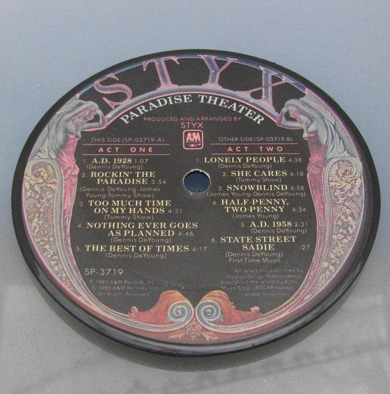 Styx - Vinyl Art Magnet