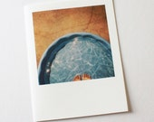 june pool polaroid card