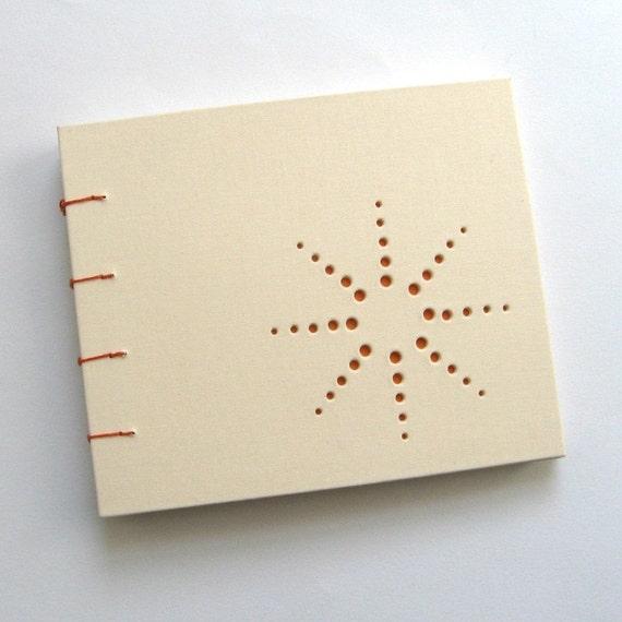 burst design blank journal ... off white