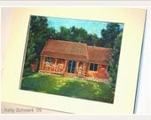 Sketch of lake Cottage