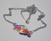 DURABLE Red Bull Drink Necklace - Special Made to Order
