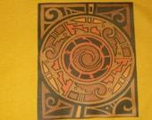 Pueblo Polychrome Pottery T Shirt