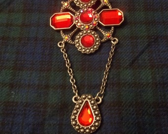The Bloody Lady of Cachtice Choker OOAK