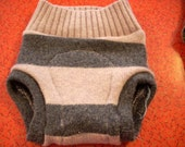 Recycled Wool Sweater Soaker Diaper Cover