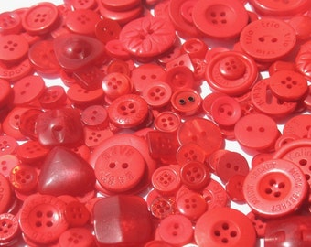 Cranberry Red - Button Selection