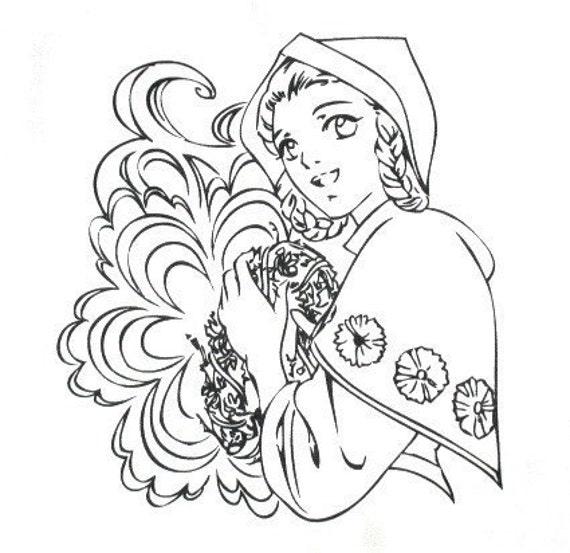 Anime Snow White - IKEA Charlotta Marke Cotton Fabric Panel