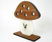 Modern Desktop Mushroom Clock