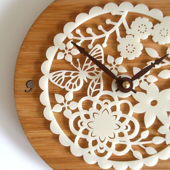 Modern Decorative Wall Clock - Kirie 02