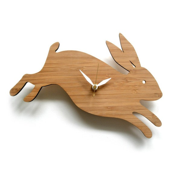 Modern Baby Clock - Rabbit Clock