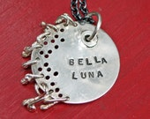 Ready to ship Bella Luna Necklace in Sterling Silver