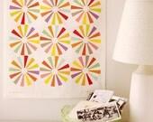 Spin Wheel Tea Towel - whimsical pretty lovely art