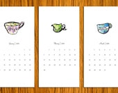 2011 Calendar - Whimsical Teacups