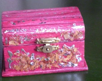 Handmade decorative WOOD BOX,