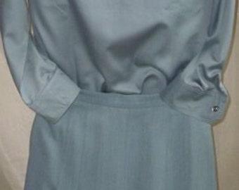 Shirt-Skirt Women Dress Jaeger Vintage from London