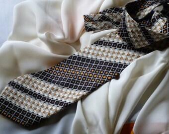 Pierre Cardin Vintage Italian Silk Tie