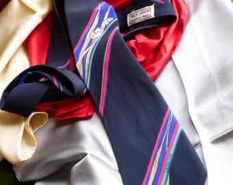 LEONARD  Silk  Vintage Tie