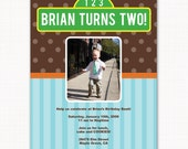 sesame street birthday party, sesame street party invitation, custom birthday party invitation