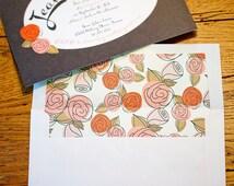 A6 & A7 envelope liner SVG die cut file, instant download