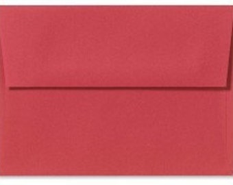 A4 envelopes - perfect for 4 x 6 photos and cards, HOLIDAY RED
