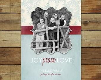 Vintage snowflakes christmas card, Snowflakes new years card, snowflakes holiday card, vintage look