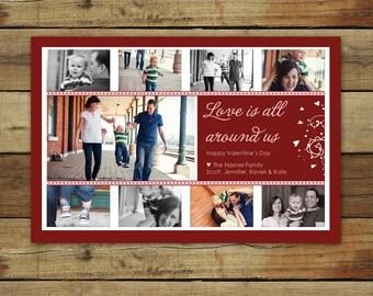 Valentine's Day Card - photo collage
