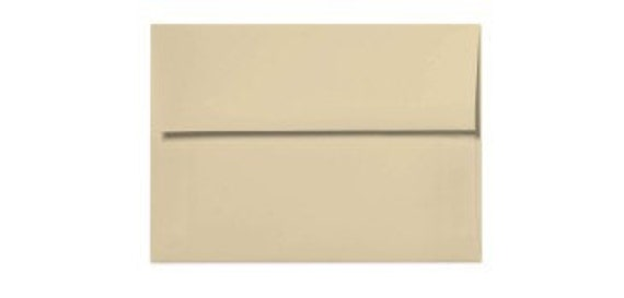 Tan A7 envelopes - perfect for 5 x 7 photos and cards, TAN