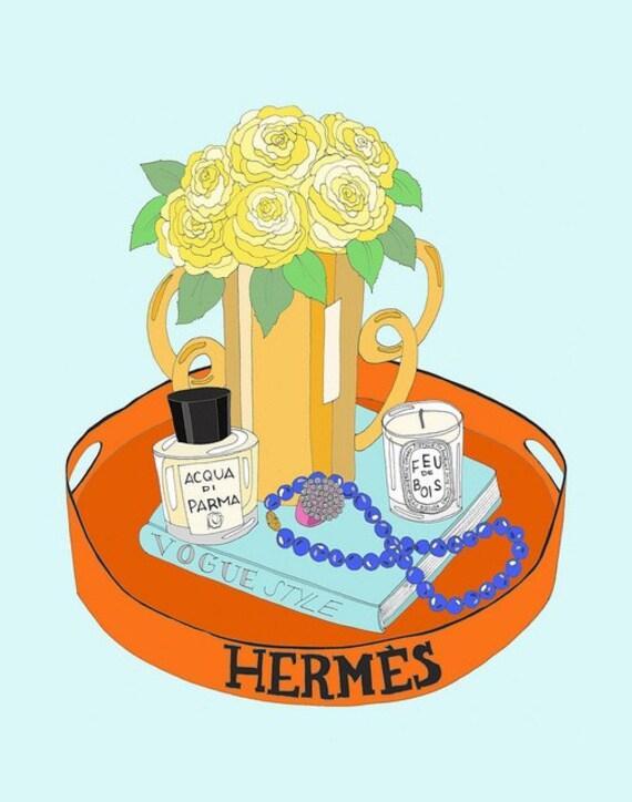 Hermes Tray... Medium