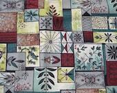 Vintage Barkcloth Fabric - Mid Century Bark Cloth - 6 Yards MINT