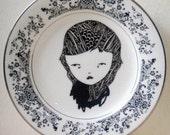 original hand drawn plate