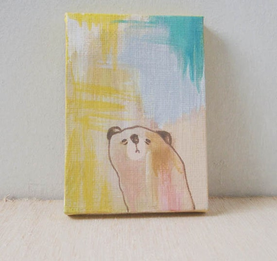 RESERVED FOR DELIA -original painting- looking for her
