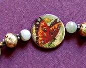 Crimsom Butterfly bracelet