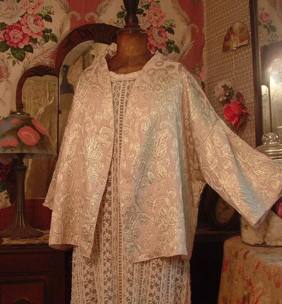 Silk Metlasse Lingerie Jacket - Sample Sale