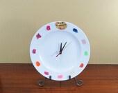 Vintage Wall Clock Painter's Clock