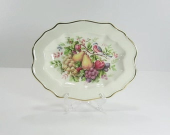 Avon Platter Made In England 1976