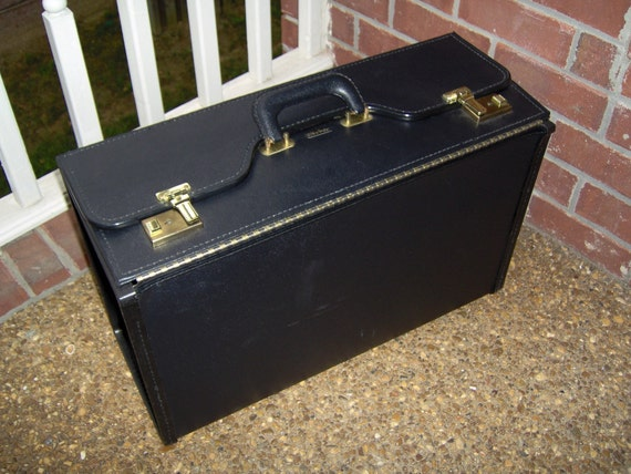 Vintage Black Salesman's Sample Case by Stebco AWESOME