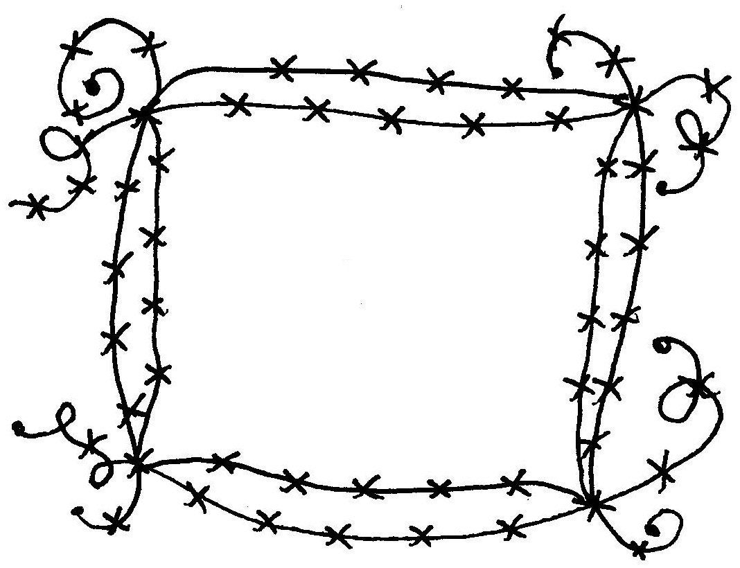 barbed wire frame mounted rubber stamps by texanadesigns on etsy