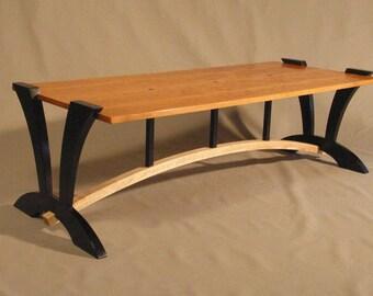 Custom Cherry Coffee Table