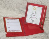 Photo Frame for Christmas Cards, Set of 2, For a Child's Christmas Photo, Gift Giving, Stocking Stuffer