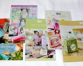 Stampin Up Idea Book and Catalog,  SAB Mini Catalogues set of 5, SaleaBration, SellaBration