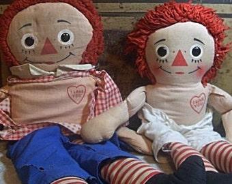 Raggedy Ann and Andy True Raggamuffins