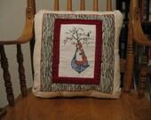 A Little Red Riding Hood Pillow