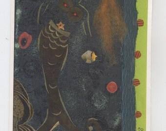 Forbidden Fruits, individual greeting card