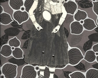 The Bearded Lady, A Paper Doll, Size Small