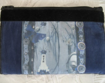 A Clutch Purse with image of Edge of Midnight